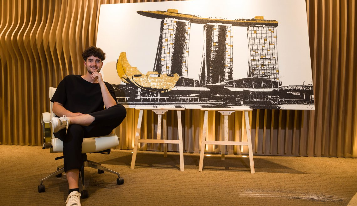 Bordier & Cie hosts German artist Tim Bengel's first exclusive preview in Singapore